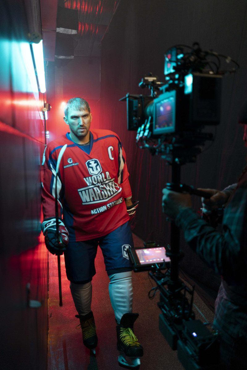 World of Warships Behind the Scene - Alex Ovechkin - Artex Productions - Corporate Video Production Company - High Quality TV Commercials - Coral Gables, FL